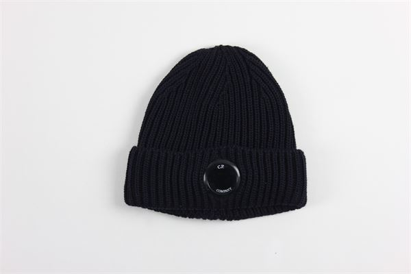 cappello tinta unita C.P. COMPANY | Cappelli | 09CMAC237ABLU