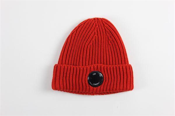 cappello tinta unita C.P. COMPANY | Cappelli | 09CMAC237AROSSO