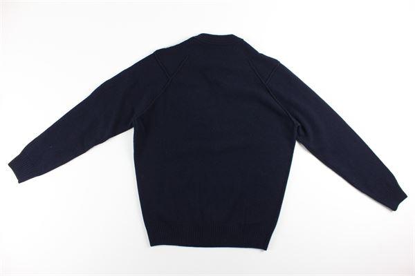 maglia girocollo tinta unita C.P. COMPANY | Maglie | 09CMKN111ABLU