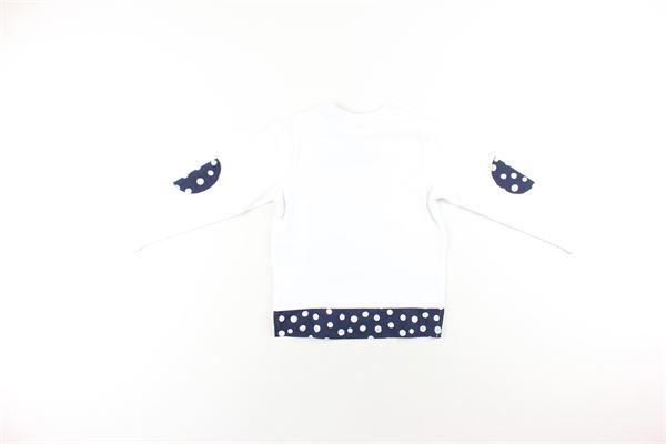 shirt tinta unita con papillon DANIELE ALESSANDRINI | Shirts | 1291M0170BIANCO