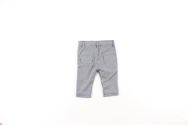 pantalone fantasia quadri DANIELE ALESSANDRINI | Pantaloni | 1291P024NERO