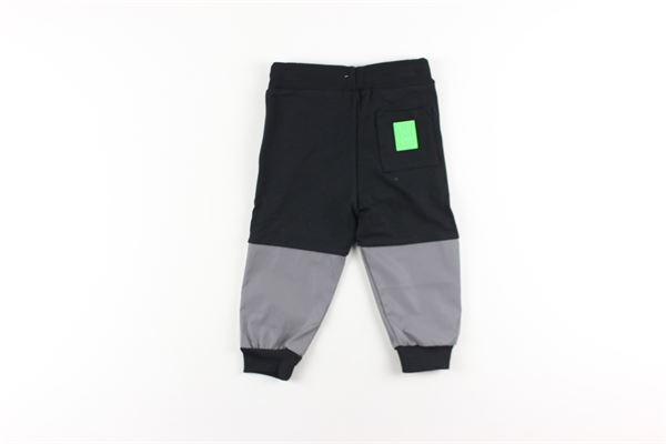 pantalone in felpa tinta unita con elastico in vita DANIELE ALESSANDRINI | Pantaloni | 1291PF0551NERO