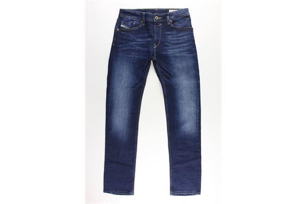 jeans 5 tasche tinta unita con girovita regolabile DIESEL | Jeans | 00J3RPBLU
