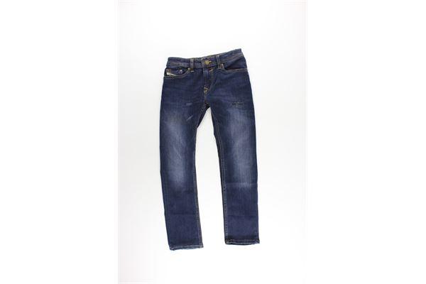 jeans 5 tasche tinta unita con girovita regolabile DIESEL | Jeans | 00J3RPKBLU