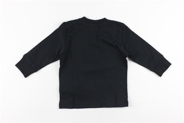 shirt tinta unita con stampa DIESEL | Shirts | 00K296NERO