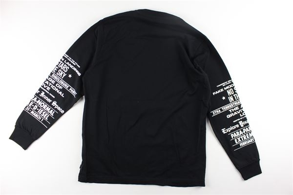 shirt manica lunga tinta unita con stampa DIESEL | Shirts | 0GATDNERO