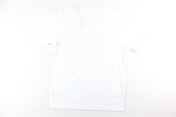 t-shirt manica lunga tinta unita con stampa DIESEL | T-shirts | 0PATIBIANCO