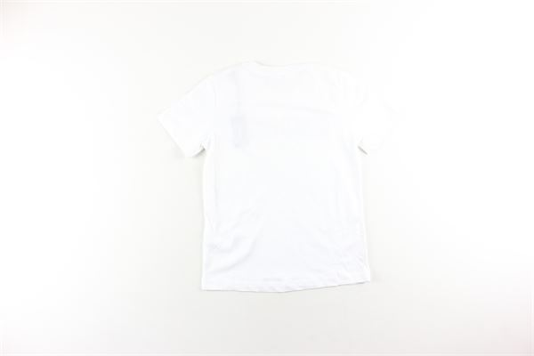 t-shirt tinta unita con stampa DIESEL | T-shirts | KYAQHBIANCO