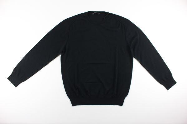 maglia girocollo tinta unita DIKTAT | Maglie | DK67001NERO