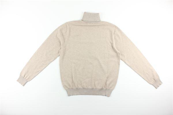 maglia collo alto tinta unita DIKTAT | Maglie | DK67004BEIGE