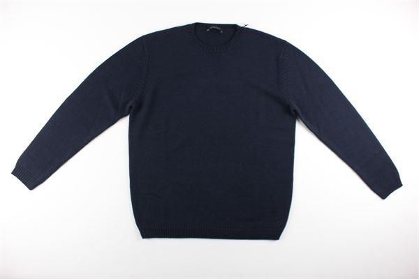 maglia tinta unita girocollo DIKTAT | Maglie | DK67008BLU