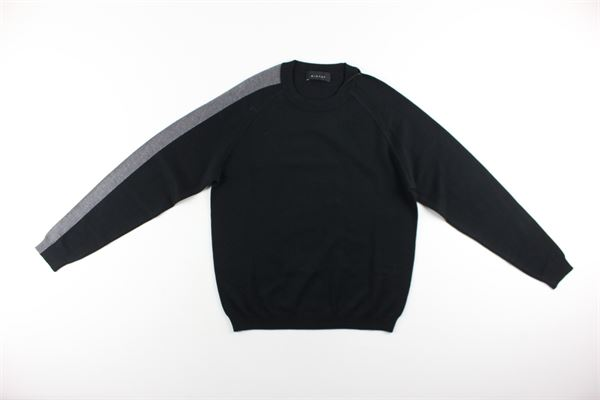maglia girocollo tinta unita DIKTAT | Maglie | DK67029NERO