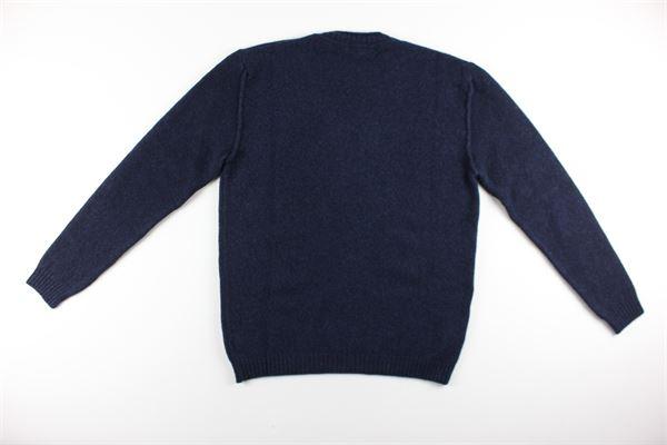 maglia girocollo tinta unita DIKTAT | Maglie | DK67067BLU