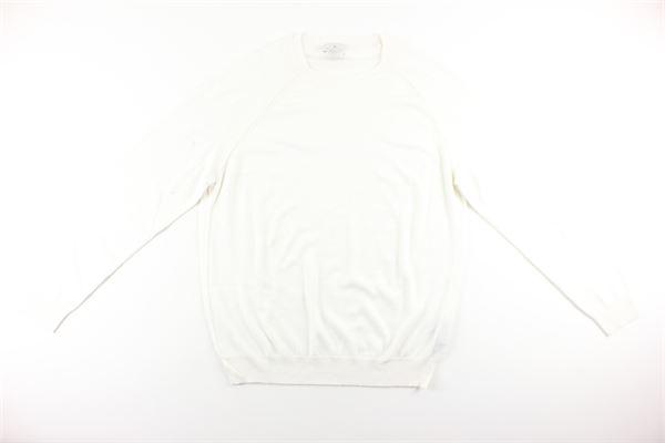maglia tinta unita girocollo DIKTAT | Maglie | DK87021BIANCO