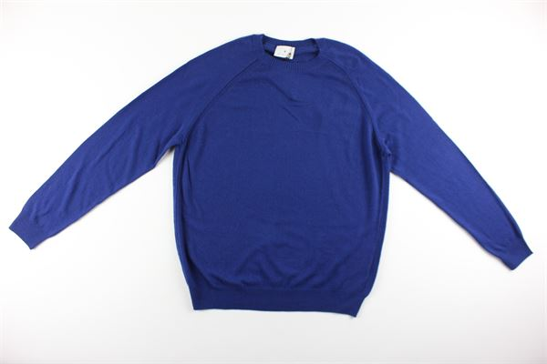 maglia tinta unita girocollo DIKTAT | Maglie | DK87021BLU ELETTRICO