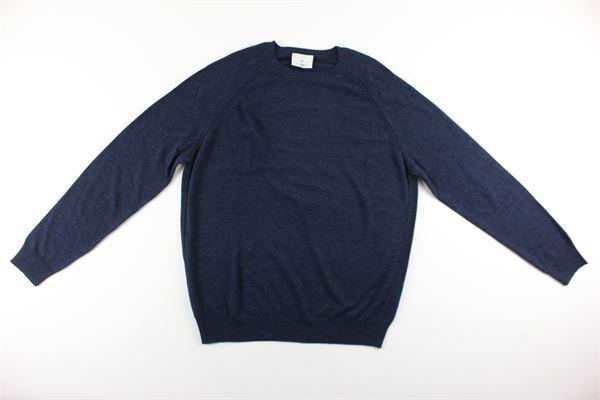 maglia tinta unita girocollo DIKTAT | Maglie | DK87021BLU