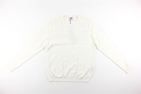 maglia tinta unita 100%lana DIKTAT | Maglie | DK87029PANNA