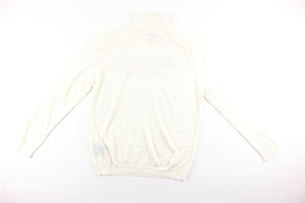 maglia collo alto tinta unita 100%lana DIKTAT | Maglie | DK87032PANNA