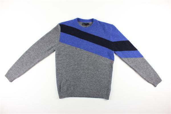 maglie bicolore DIKTAT | Maglie | DK87088GRIGIO