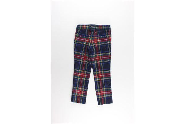 DOLCE & GABBANA   Trousers   L43P10BLU/ROSSO