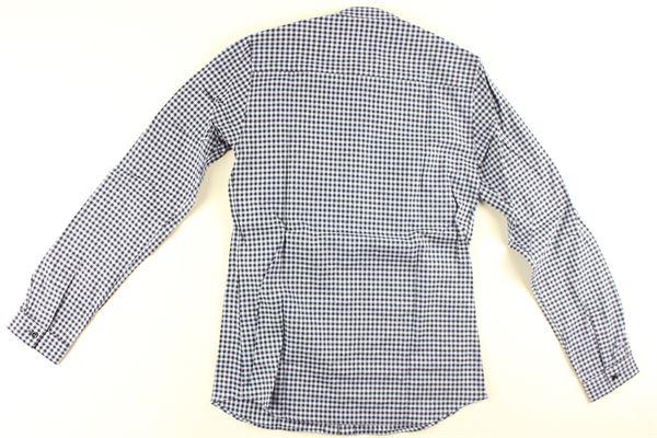 camicia manica lunga fatasia quadri DONDUP | Camicie | BC070BLU