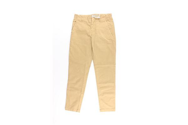 pantalone tinta unita tasche americhe DONDUP | Pantaloni | BF244XBEIGE