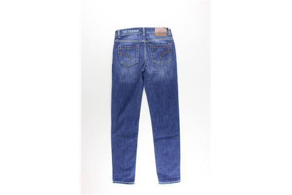 jeans 5 tasche tinta unita DONDUP | Jeans | BP217RBLU