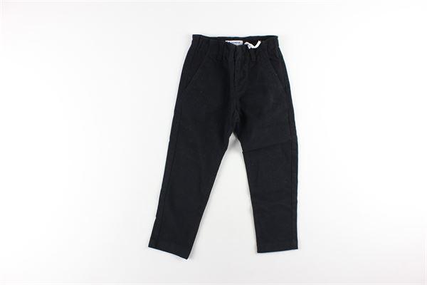 pantalone tinta unita con tasca america DONDUP | Pantaloni | BP244NERO