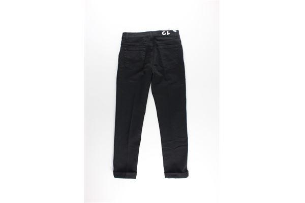 jeans 5 tasche tinta unita DONDUP | Jeans | DMPA205NERO