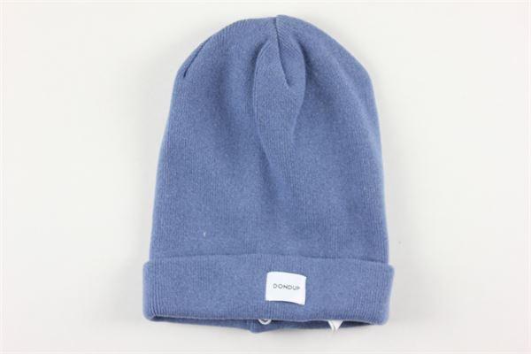 cappello tinta unita in cotone DONDUP | Cappelli | FL988AZZURRO