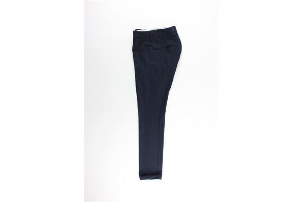 pantalone tasca america tinta unita DONDUP | Pantaloni | UP235XXBLU