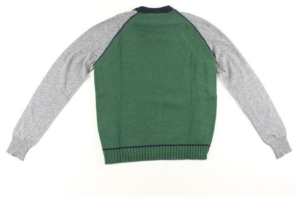 maglia tricolore DSQUARED | Maglie | DQ01SDD00KZDQ851BLU/VERDE