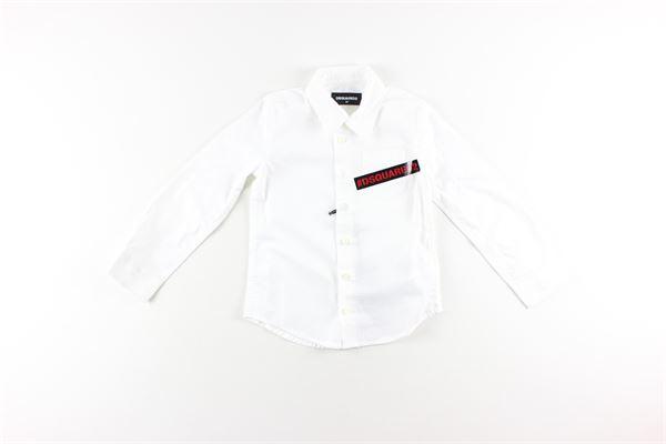DSQUARED | Shirts | DQ03W1BIANCO