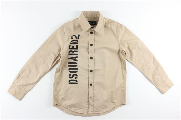 DSQUARED2 | Shirts | DQ03E0BEIGE