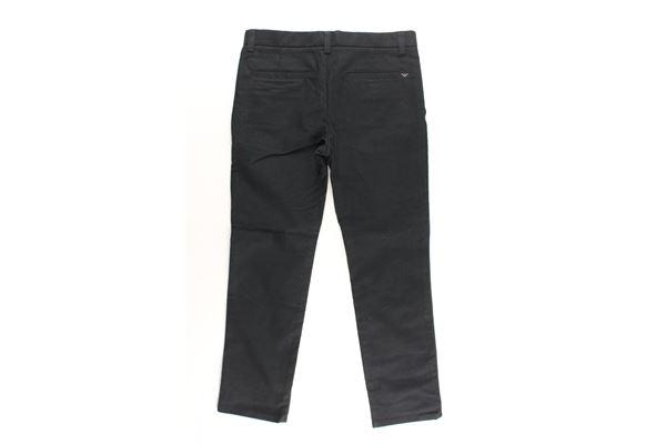 pantalone tinta unita tasche america EMPORIO ARMANI | Pantaloni | 6GAPJ9NERO