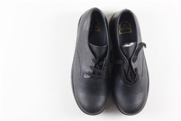 scarpe tinta unita modello polacchina con gomma alta EUREKA | Scarpe | ASCOTNERO