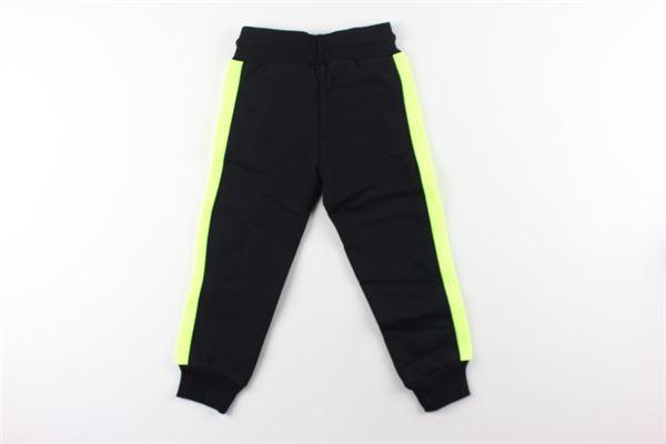 pantalone tinta unita con stampa EVERLAST | Pantaloni | 026513NERO