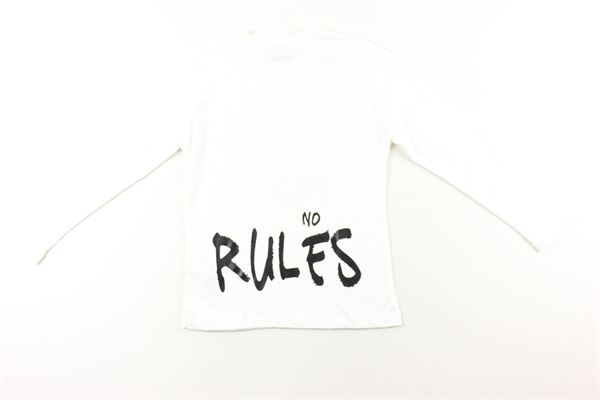 shirt tinta unita con stampa EVERLAST | Shirts | 0265200BIANCO