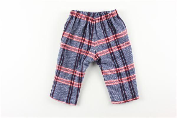 pantalone fantasia quadri FINA EJERIQUE | Pantaloni | O20B15332BLU