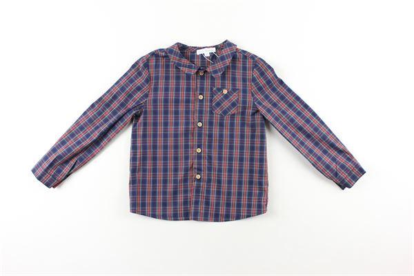 camicia fantasia quadri manica lunga FINA EJERIQUE | Camicie | O20B1737BLU