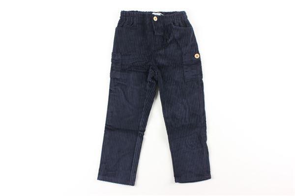 pantalone tinta unita in velluto FINA EJERIQUE | Pantaloni | O20B1933XBLU