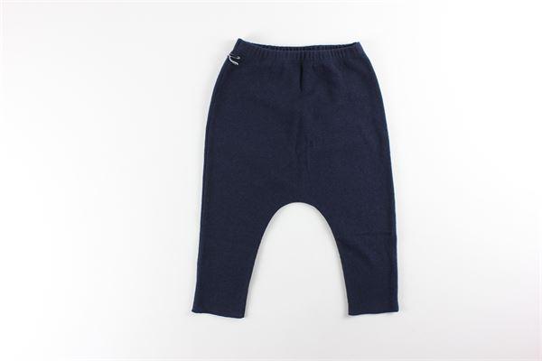 pantalone tinta unita con elastico in vita FRUGOO | Pantaloni | 211P006BLU
