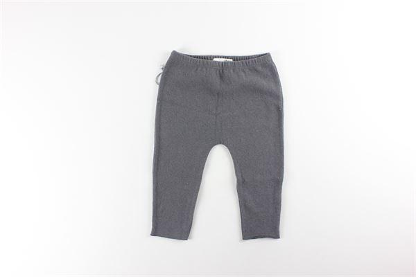 pantalone tinta unita con elastico in vita FRUGOO | Pantaloni | 211P048GRIGIO