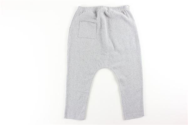 pantalone tinta unita elastico in vita FRUGOO | Pantaloni | 211P092GRIGIO