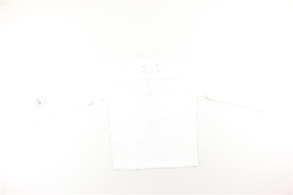shirt tinta unita con stampa GAELLE | Shirts | 2731M0029BIANCO