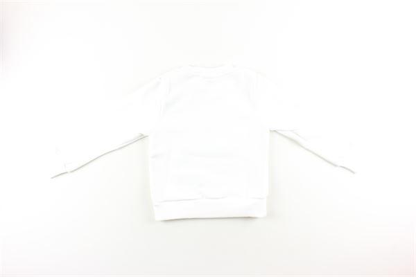 felpa tinta unita con stampa in contrasto GAVROCHE | Felpe | BO1013BIANCO