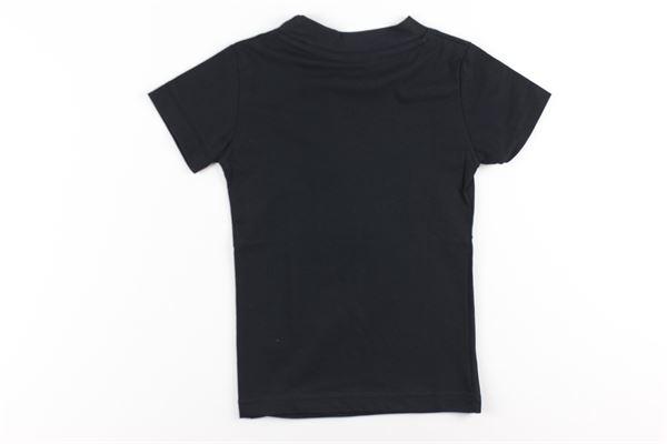 t-shirt tinta unita con stampa GAVROCHE | T-shirts | BO10233NERO