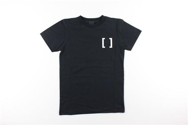 t-shirt tinta unita con stampa GAVROCHE | T-shirts | BO1023NERO