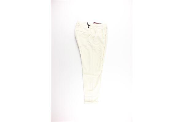 GOLDEN CRAFT | Trousers | GC1PFW20215492BIANCO