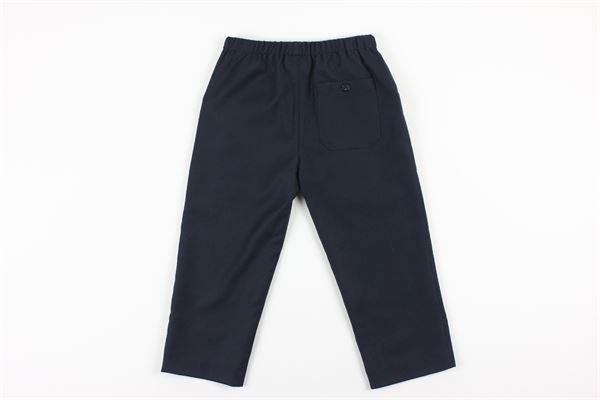 pantaloni tinta unita elastico in vita con tasconi GUCCI   Pantaloni   616382XWAJ5BLU